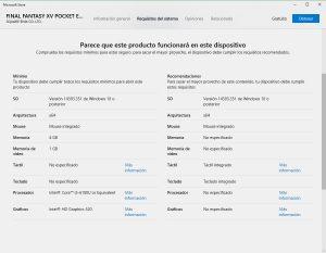 Microsoft Store Windows 10 modernizada