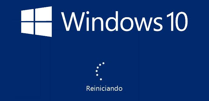 Reinicio Windows 10