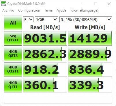 Velocidad RAM Disk ImDisk Toolkit
