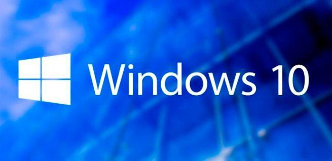 Windows 10 fondo azul