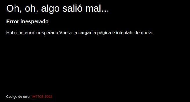 Fallo Netflix