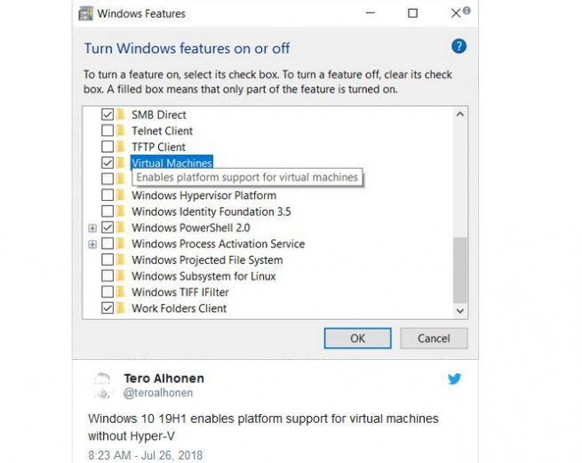 Windows 10 máquinas virtuales