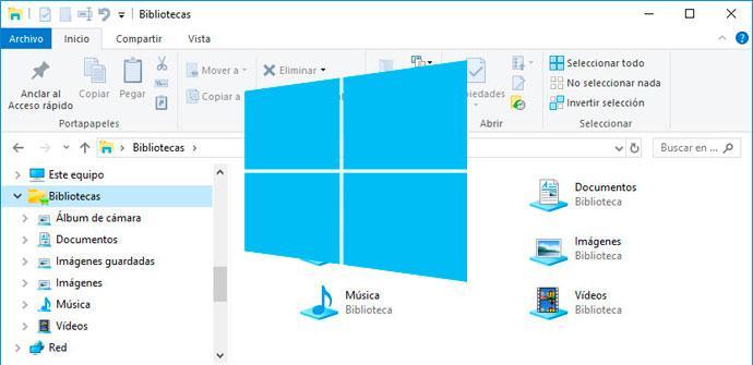 Ver noticia 'Cómo cambiar el icono de la carpeta bibliotecas de Windows 10'