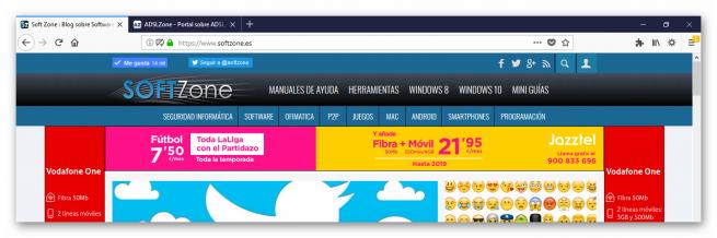 Material Design en Firefox