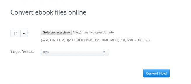 convertir ebooks