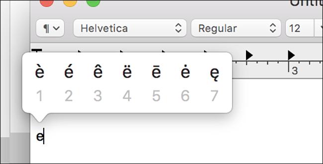 características de macOS