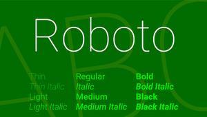 Cómo instalar Roboto, la fuente de Google, en Windows