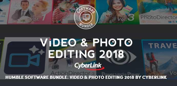 Humble Software Bundle - Edicion foto video CyberLink