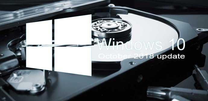 Ver noticia '¿Cuánto espacio necesitamos para actualizar, sin problemas, a Windows 10 October 2018 Update?'