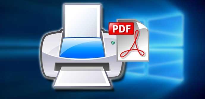 Ver noticia 'Cómo activar o desactivar la impresora Microsft Print to PDF en Windows 10'