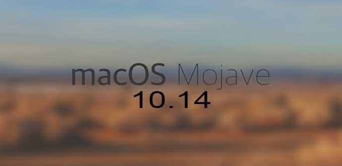 Ver noticia 'macOS 10.14 Mojave: disponible la nueva actualización de macOS. Conoce todas sus novedades'