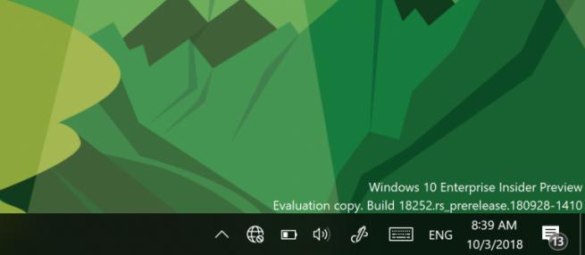 Icono sin internet Windows 10 19h1