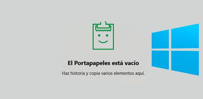 Portapapeles Windows 10 October 2018 Update