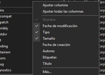 Explorador de archivos