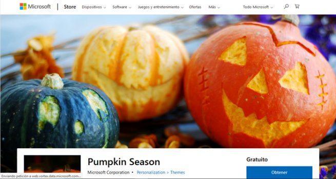 Tema Halloween Windows 10