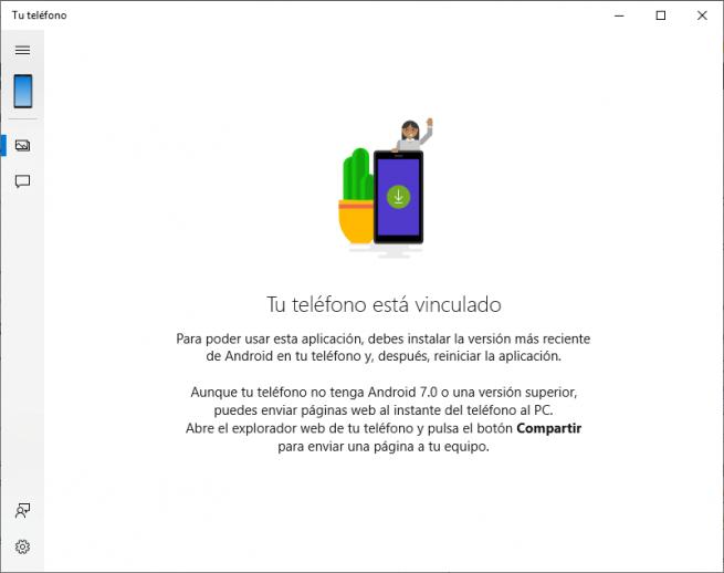 Tu teléfono Windows 10 October 2018 Update
