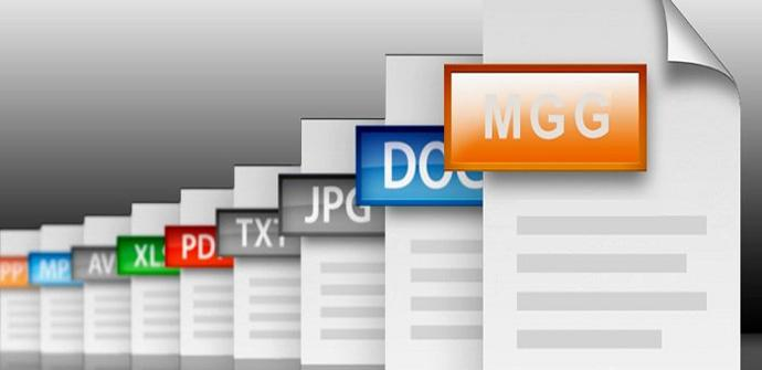 Tipos de ficheros