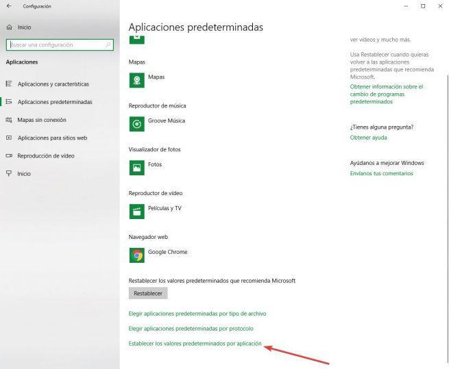 Word como visor PDF - Cambiar asociación por aplicación