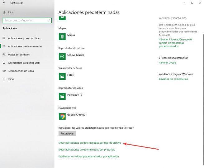 Word como visor PDF - aplicaciones por formato