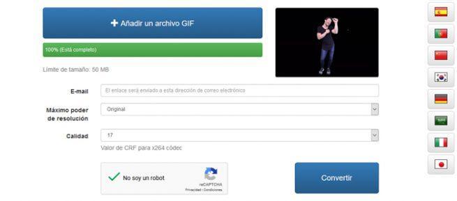 GIF vídeo