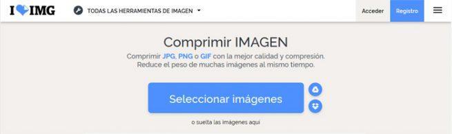 Compresores imágenes