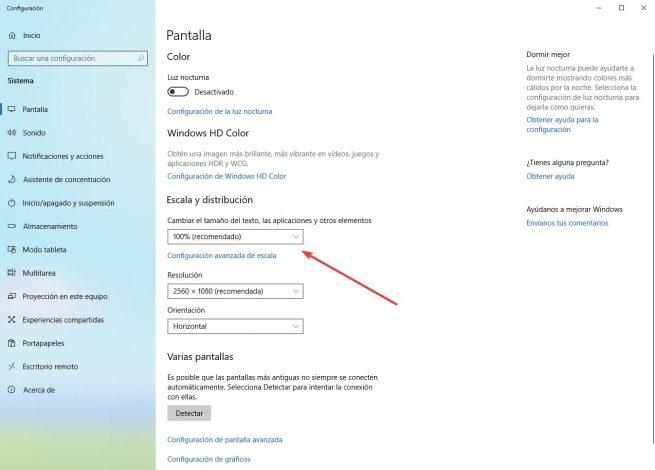 Escalado DPI Windows 10