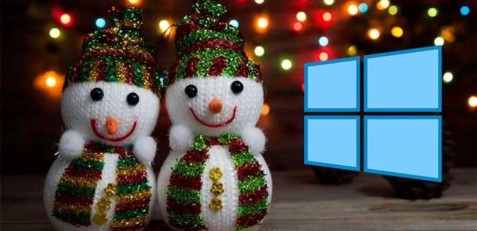 Pack De Temas Y Fondos Navidenos De Microsoft Gratis Para
