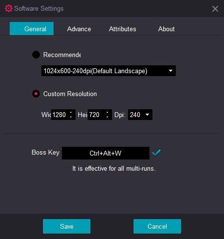 KOPlayer - Configuración
