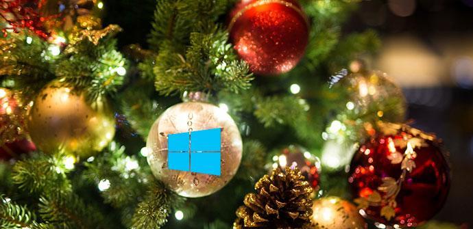 Navidad Decoración Windows