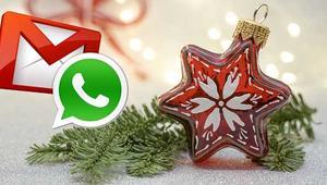 Cómo crear felicitaciones navideñas para mandar por correo o WhatsApp