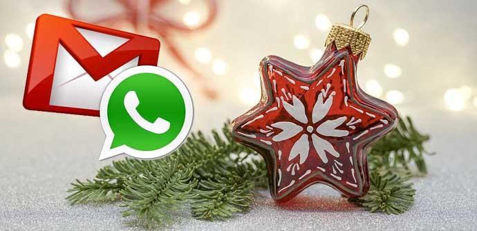Ver noticia 'Cómo crear felicitaciones navideñas para mandar por correo o WhatsApp'