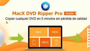 Cómo hacer copias de tus DVDs con MacX DVD Ripper Pro y acceder al sorteo de una licencia gratis