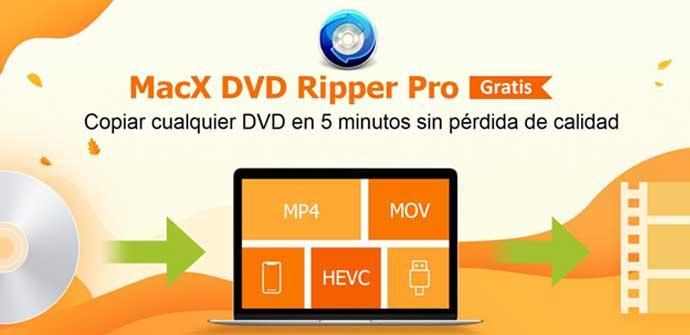 Ver noticia 'Cómo hacer copias de tus DVDs con MacX DVD Ripper Pro y acceder al sorteo de una licencia gratis'