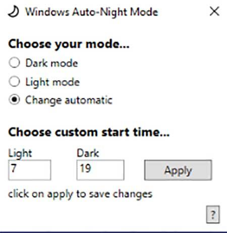 modo oscuro en Windows 10