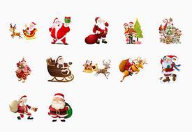 Stickers Navidad