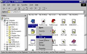 Explorador Archivos Windows 95