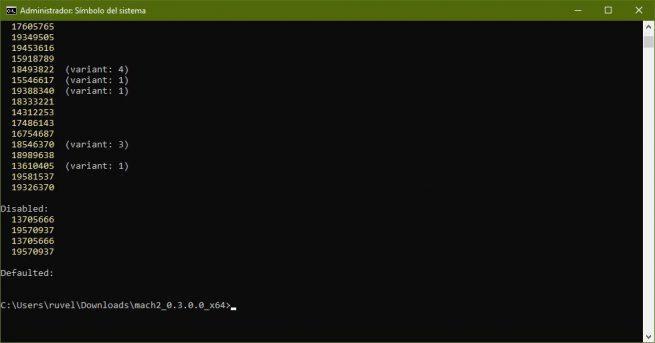 Mach2 - Habilitar opciones ocultas Windows 10 Insider - 1