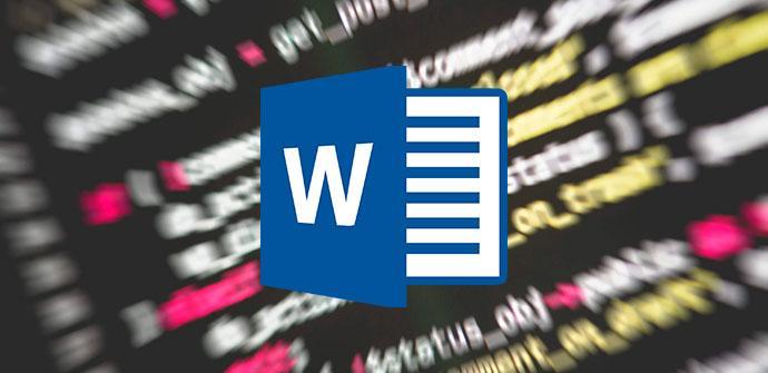 Programación en Word