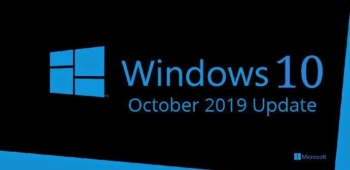 Windows 10 October 2019