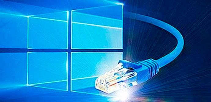 Windows 10 y cable de red