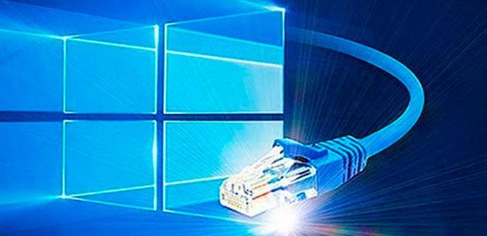 Windows 10 y cable de red