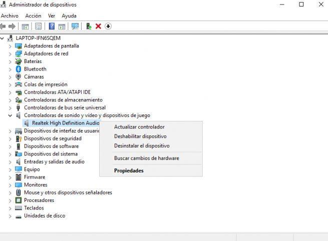 Audio Windows 10