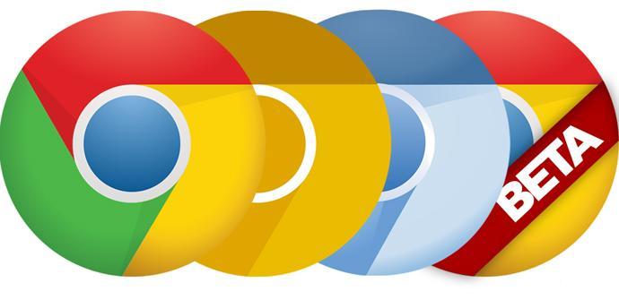 Google Chrome estable vs Beta vs Dev vs Canary vs Chromium