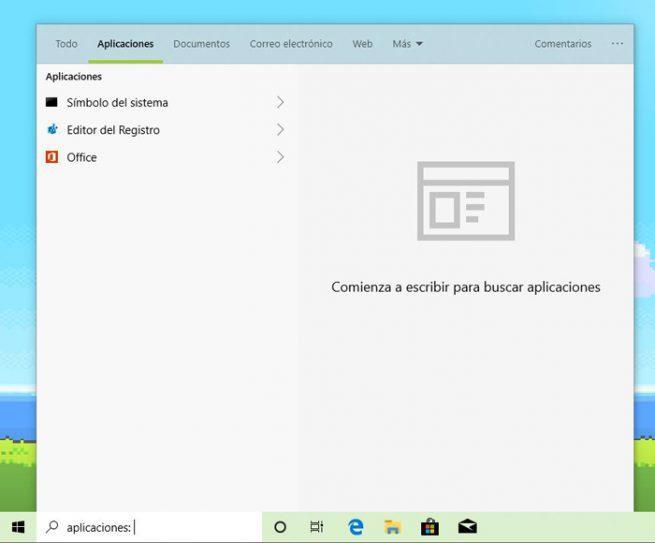 Cortana buscador Windows 10