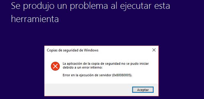 Error Windows 10
