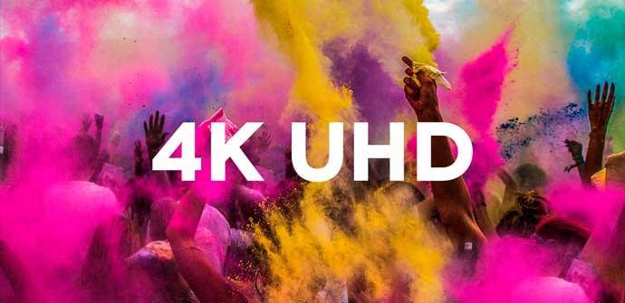 4K UDH Fondo