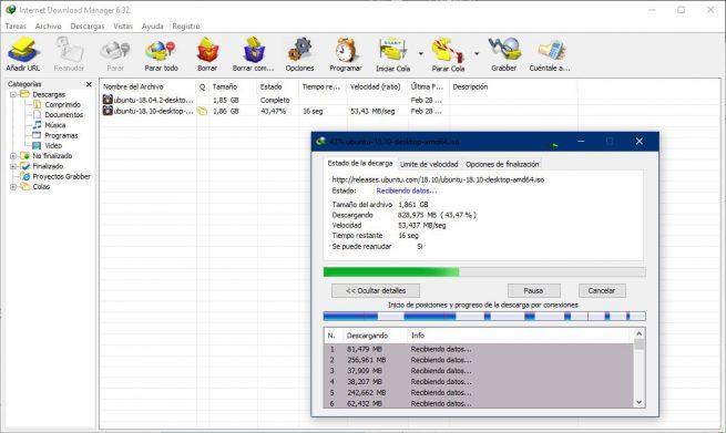 Proceso descarga IDM desde Chrome