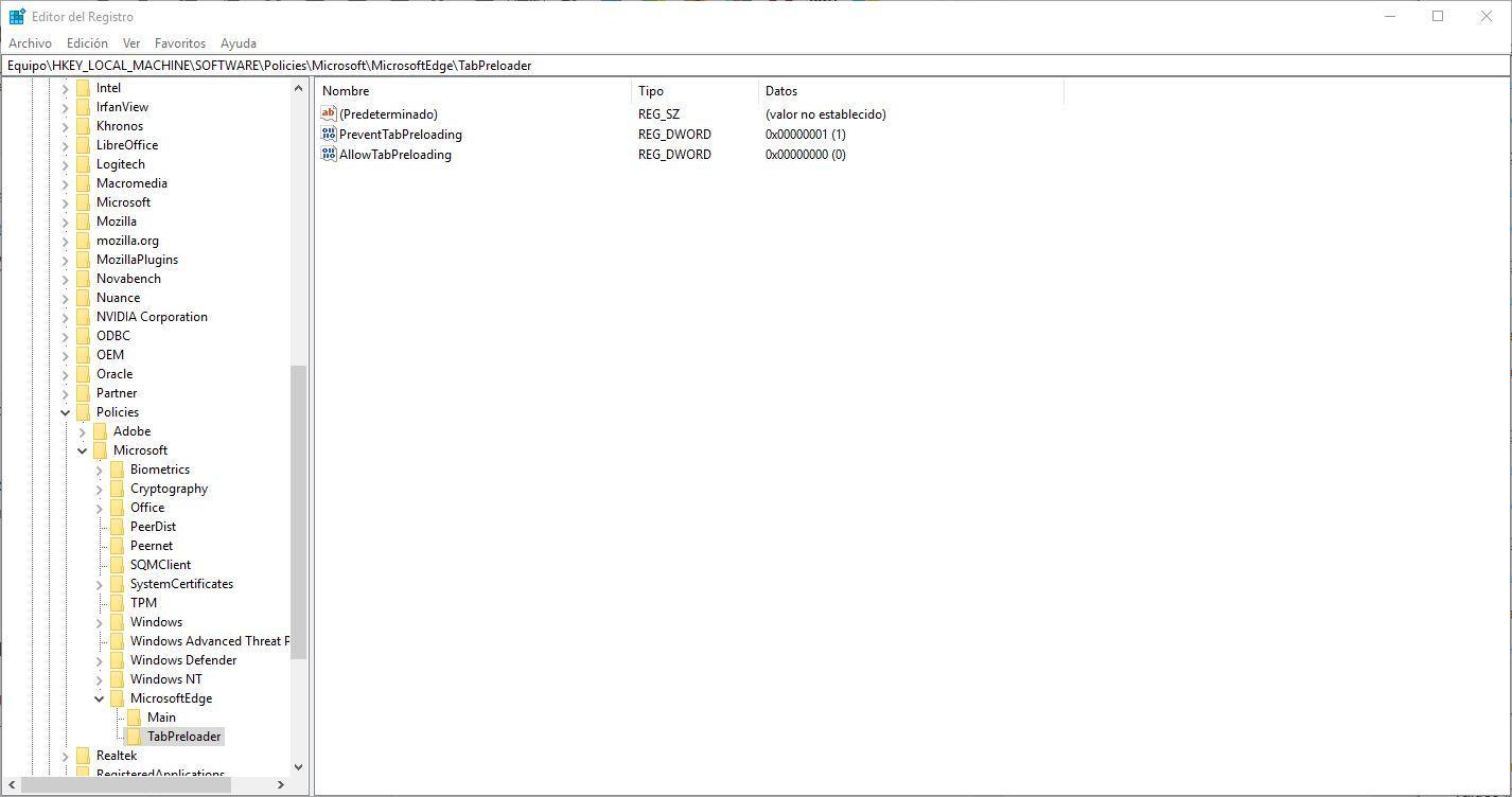 Cómo evitar que Microsoft Edge se ejecute en segundo plano