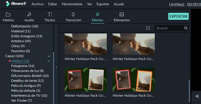 Editar vídeos Filmora9