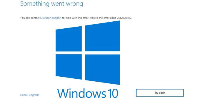 Ver noticia 'Cómo solucionar el error 0xa0000400 al actualizar Windows 10'